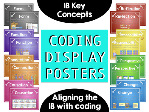 Coding: IB Key Concepts Posters