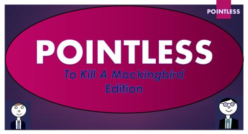To Kill A Mockingbird Pointless Game!