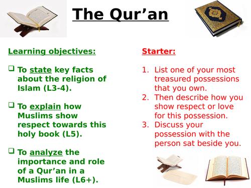 GCSE - The Qur'an