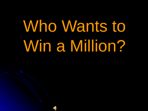 Gamelan Who Wants to Be a Millionaire Quiz