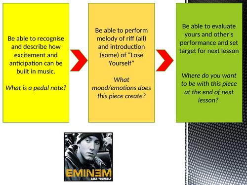 Eminem Lose Yourself and Mocking Bird