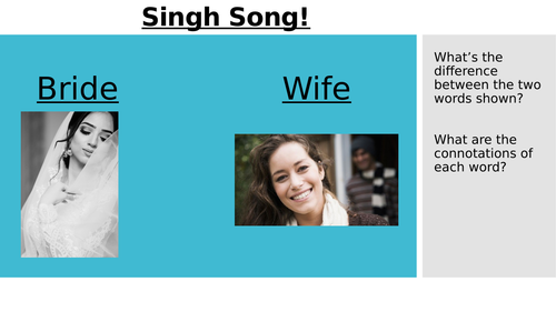 Singh Song! (Love and Relationships)