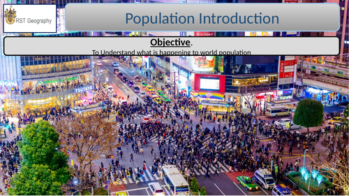 AS Cambridge 4.1 Natural Increase as a component of population Change. 5LESSONS AND WORKBOOK