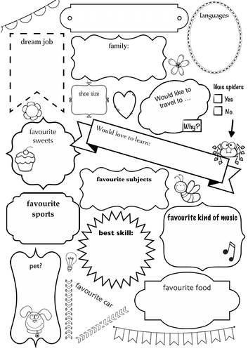 Introducing worksheet - learners find out about each other, English, ESL, Getting to know each other