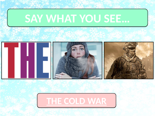 KS3: Introduction to the Cold War