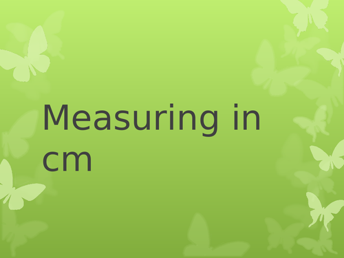 Introduction for measuring Year1/Year 2