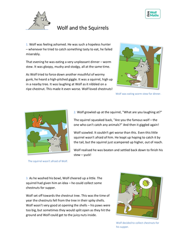 Subtraction To 10 Storybook Ks1 Number By Teselements