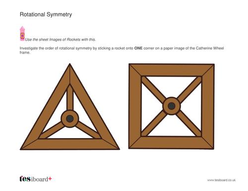 Rotational Symmetry Lesson Pack - Bonfire Night KS2