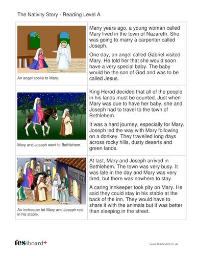 The Nativity Storybook - Reading Level A - Christmas KS1
