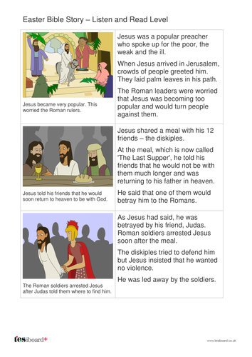 The Easter Story Storybook - Early Reader Level - Easter KS1