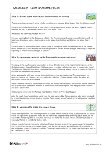 Easter Bible Assembly KS2