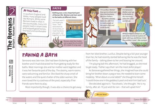 Romano-British Cities - Comprehension Worksheet - Roman Britain KS2