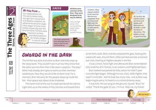 Tribal Life - Comprehension Worksheet - The Iron Age KS2