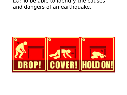 Natural Disasters: Living with Earthquakes!