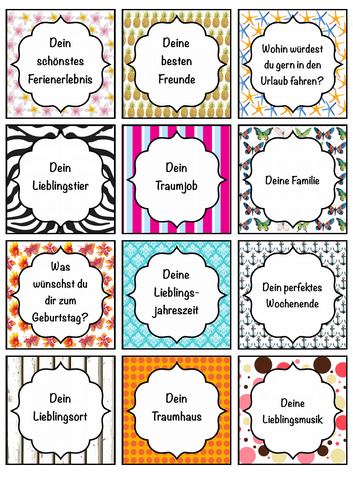 German Worksheets: Primary Language Teaching Resources ǀ Tes