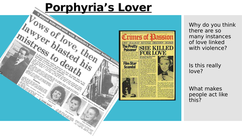 Porphyria's Lover (Love and Relationships)