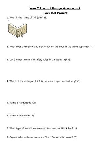 Block Bot Project written Assessment