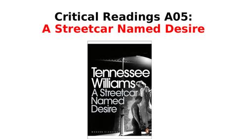 A Streetcar Named Desire - Critical Quotes