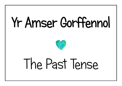 Welsh Concise Past Tense Display