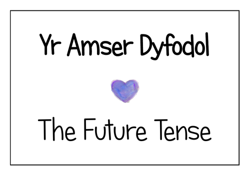 Welsh Future Tense Display