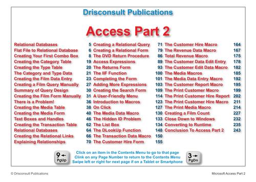 Microsoft Access P2 Sample