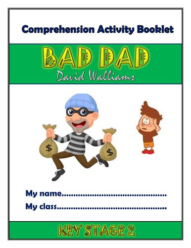 Bad Dad KS2 Comprehension Activities Booklet!