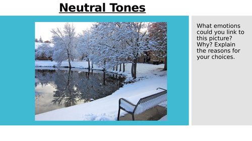 Neutral Tones (Love and Relationships)