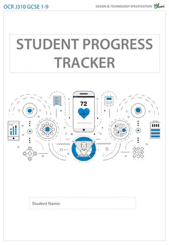 OCR GCSE 9-1 Design and Technology Student Progress Tracker