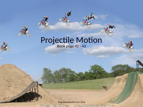 IB Topic 2 Mechanics Lesson 6 Projectile motion HL + SL