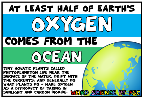 Weird Fact Science Posters Pack 1 - 15 POSTERS INCLUDED