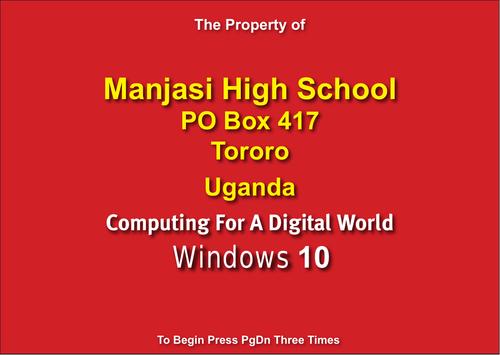 Personalised sample of Windows 10