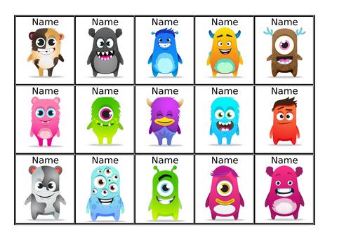 Class Dojo Editable Name Tags