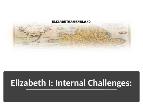 Elizabeth Internal Challenges Northern Rebellion