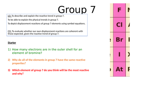 Group 7 Lesson