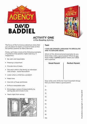 David Baddiel's The Parent Agency - Resource Bundle