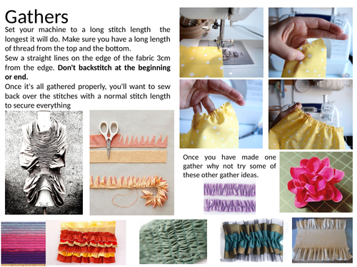Textiles Techniques Learning Mats