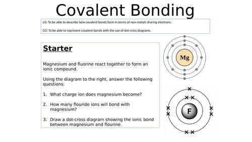 KS4 Covalent Bonding Whole Lesson