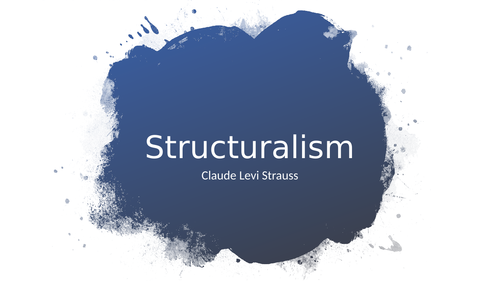 Structuralism and binary opposition - Strauss media theory