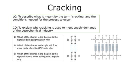 KS4 Cracking lesson