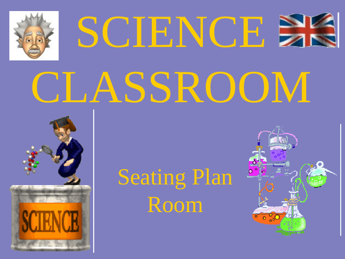 Seating Planner - Science Classroom