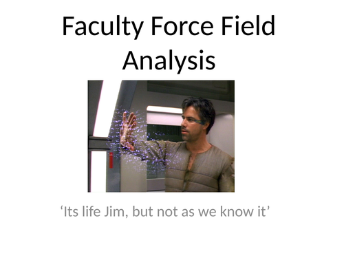 Development Plan - Force Field Analysis