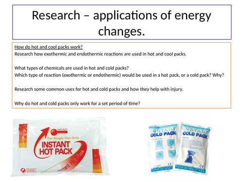 KS4 Applications of energy changes