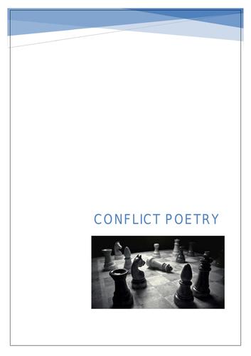 Conflict Poetry Workbook