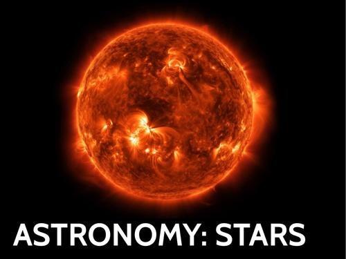 GCSE Astronomy PowerPoint: Stars