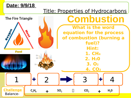 Properties of Hydrocarbons NEW AQA