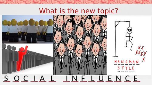 AQA GCSE Psychology:  Social Influence 5.1 Asch's line study 8182