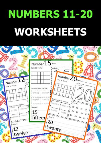Numbers 11 20 worksheets by onphamon teaching resources tes ibookread Download