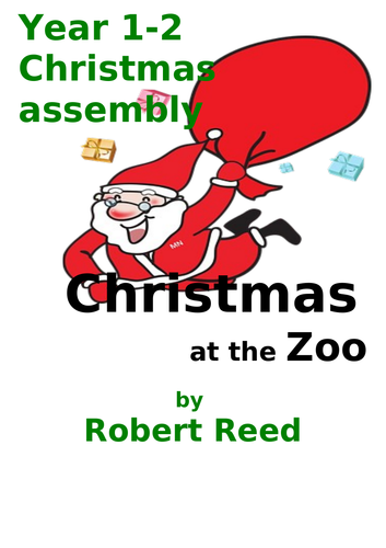 KS1 Christmas assembly play for children in Year 1 and 2
