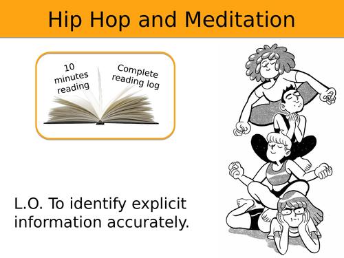Identifying Explicit Information: Hip Hop and Meditation