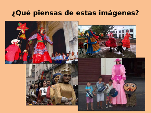 Concurso de Gigantonas - Nicaragua - Latin American Costumes and Traditions.